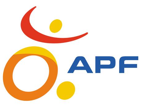Logo de l'APF
